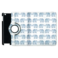 Indian Elephant  Apple Ipad 2 Flip 360 Case by Valentinaart