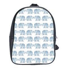 Indian Elephant  School Bags (xl)  by Valentinaart