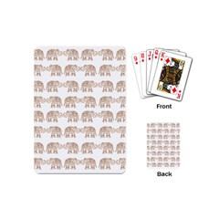 Indian Elephant Playing Cards (mini)