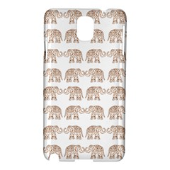 Indian Elephant Samsung Galaxy Note 3 N9005 Hardshell Case by Valentinaart