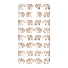 Indian Elephant Samsung Galaxy Note 3 N9005 Hardshell Back Case by Valentinaart