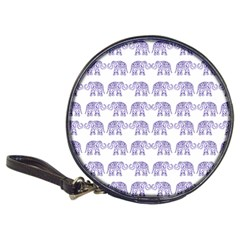 Indian Elephant Pattern Classic 20 Cd Wallets by Valentinaart