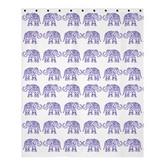 Indian Elephant Pattern Shower Curtain 60  X 72  (medium)  by Valentinaart