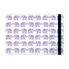 Indian Elephant Pattern Apple Ipad Mini Flip Case by Valentinaart