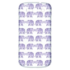 Indian Elephant Pattern Samsung Galaxy S3 S Iii Classic Hardshell Back Case by Valentinaart
