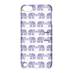 Indian Elephant Pattern Apple Ipod Touch 5 Hardshell Case With Stand by Valentinaart