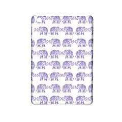 Indian Elephant Pattern Ipad Mini 2 Hardshell Cases by Valentinaart