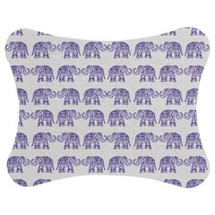 Indian Elephant Pattern Jigsaw Puzzle Photo Stand (bow) by Valentinaart