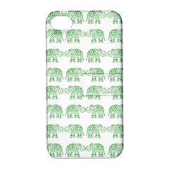Indian Elephant Pattern Apple Iphone 4/4s Hardshell Case With Stand by Valentinaart