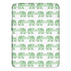 Indian Elephant Pattern Samsung Galaxy Tab 3 (10 1 ) P5200 Hardshell Case  by Valentinaart
