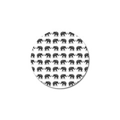 Indian Elephant Pattern Golf Ball Marker by Valentinaart