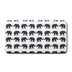 Indian Elephant Pattern Medium Bar Mats by Valentinaart