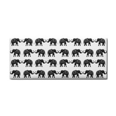 Indian Elephant Pattern Cosmetic Storage Cases by Valentinaart
