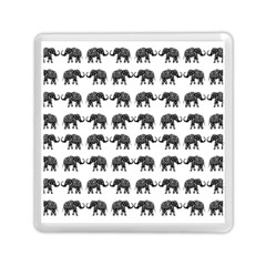 Indian Elephant Pattern Memory Card Reader (square)  by Valentinaart
