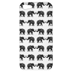 Indian Elephant Pattern Apple Iphone 5 Hardshell Case by Valentinaart