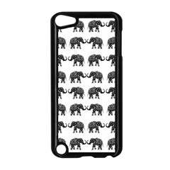 Indian Elephant Pattern Apple Ipod Touch 5 Case (black) by Valentinaart