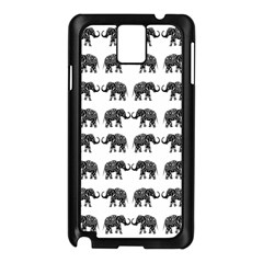 Indian Elephant Pattern Samsung Galaxy Note 3 N9005 Case (black) by Valentinaart