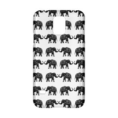 Indian Elephant Pattern Samsung Galaxy S5 Hardshell Case  by Valentinaart