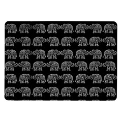 Indian Elephant Pattern Samsung Galaxy Tab 10 1  P7500 Flip Case by Valentinaart