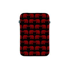 Indian Elephant Pattern Apple Ipad Mini Protective Soft Cases by Valentinaart