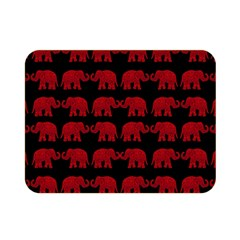 Indian Elephant Pattern Double Sided Flano Blanket (mini)  by Valentinaart