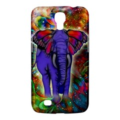Abstract Elephant With Butterfly Ears Colorful Galaxy Samsung Galaxy Mega 6 3  I9200 Hardshell Case by EDDArt