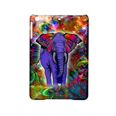 Abstract Elephant With Butterfly Ears Colorful Galaxy Ipad Mini 2 Hardshell Cases by EDDArt