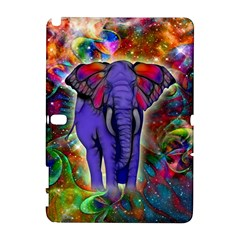 Abstract Elephant With Butterfly Ears Colorful Galaxy Galaxy Note 1 by EDDArt
