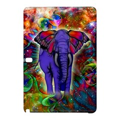 Abstract Elephant With Butterfly Ears Colorful Galaxy Samsung Galaxy Tab Pro 10 1 Hardshell Case by EDDArt