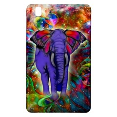 Abstract Elephant With Butterfly Ears Colorful Galaxy Samsung Galaxy Tab Pro 8 4 Hardshell Case by EDDArt