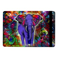 Abstract Elephant With Butterfly Ears Colorful Galaxy Samsung Galaxy Tab Pro 10 1  Flip Case by EDDArt
