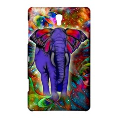 Abstract Elephant With Butterfly Ears Colorful Galaxy Samsung Galaxy Tab S (8 4 ) Hardshell Case  by EDDArt