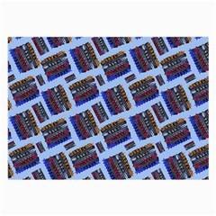 Abstract Pattern Seamless Artwork Large Glasses Cloth (2 Side) by Amaryn4rt
