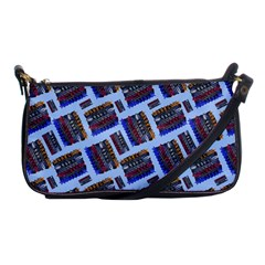 Abstract Pattern Seamless Artwork Shoulder Clutch Bags by Amaryn4rt