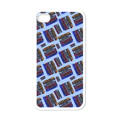 Abstract Pattern Seamless Artwork Apple Iphone 4 Case (white) by Amaryn4rt