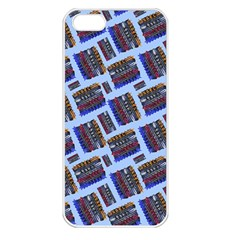 Abstract Pattern Seamless Artwork Apple Iphone 5 Seamless Case (white)