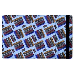 Abstract Pattern Seamless Artwork Apple Ipad 2 Flip Case by Amaryn4rt