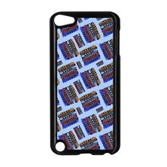 Abstract Pattern Seamless Artwork Apple Ipod Touch 5 Case (black)
