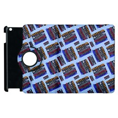 Abstract Pattern Seamless Artwork Apple iPad 2 Flip 360 Case by Amaryn4rt