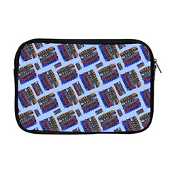 Abstract Pattern Seamless Artwork Apple Macbook Pro 17  Zipper Case by Amaryn4rt