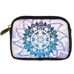 Mandalas Symmetry Meditation Round Digital Camera Cases by Amaryn4rt