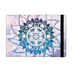 Mandalas Symmetry Meditation Round Apple Ipad Mini Flip Case by Amaryn4rt