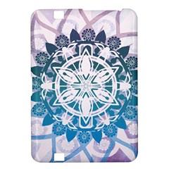 Mandalas Symmetry Meditation Round Kindle Fire Hd 8 9  by Amaryn4rt