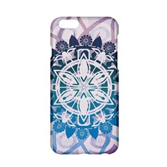 Mandalas Symmetry Meditation Round Apple Iphone 6/6s Hardshell Case