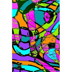 Abstract Art Squiggly Loops Multicolored 5 5  X 8 5  Notebooks by EDDArt