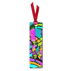 Abstract Art Squiggly Loops Multicolored Small Book Marks by EDDArt