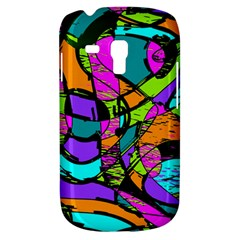 Abstract Art Squiggly Loops Multicolored Galaxy S3 Mini by EDDArt