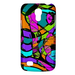 Abstract Art Squiggly Loops Multicolored Galaxy S4 Mini by EDDArt
