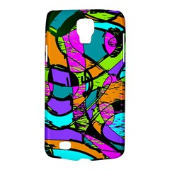 Abstract Art Squiggly Loops Multicolored Galaxy S4 Active by EDDArt