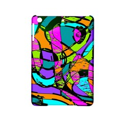 Abstract Art Squiggly Loops Multicolored Ipad Mini 2 Hardshell Cases by EDDArt